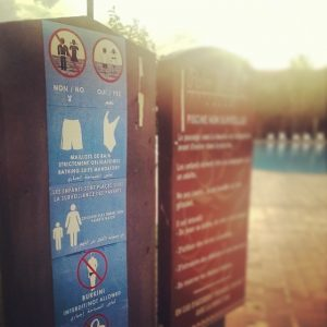 Burkini not allowed. Minimum flesh required. by Bruno Sanchez-Andrade Nuño, CC BY 2.0