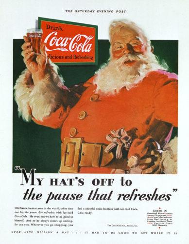 Coca-Cola Santa 1931